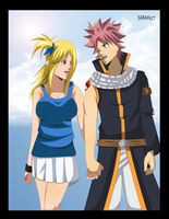 Natsu and Lucy Love by Sarah927