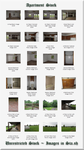 Apartment Stock Previw Pane by WDWParksGal-Stock