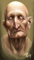 old man study by meirha