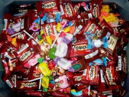 Piles Of Candy by KambalPinoy