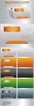 Debri Business Card by GrDezign