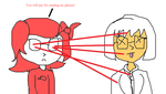 Daria Witch Kills Dr Tammy With Her Laser Glasses by Airyfellow