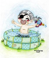 Xiggy IN THE POOL-color by Paigy-POP
