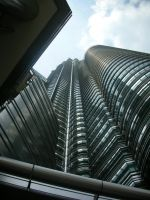 Under the petronas towers by Loy-Pinheiro