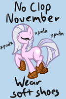 No Clop November by Arrkhal