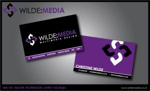 Wilde Media Business Cards by wilde-media