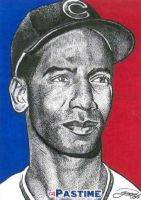 Ernie Banks by JRosales1