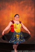 Kingdom Hearts Wall Scroll Dress by snowtigra