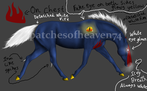 Demon Horse-KEEPING by patchesofheaven74