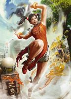 SfxTk Ling Xiaoyu Artwork by Jesterca