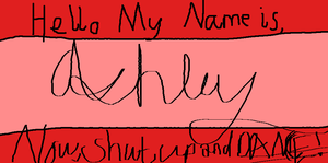 Hello My Name is, by Starlight201