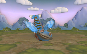 my Blue Toothless in spore 2 by moonofheaven1