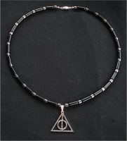 Harry Potter Deathly Hallows Necklace by RebelATS