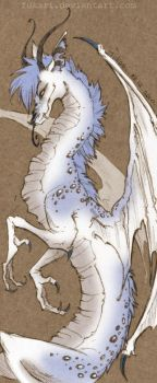spotted dragon by Fukari