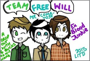 Supernatural - Team Free Will by Insane-Button