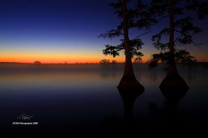 A Reelfoot Sunrise by TRBPhotographyLLC