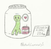 Creeper in a Jar by AkatsukiLovesevery1