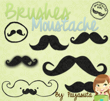 Brushes Moustache by Payasiita