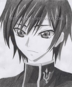 Lelouch of the Rebellion by Salvaa