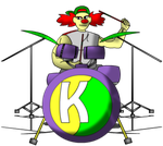 Klasley the drummer clown by ppgxproductions
