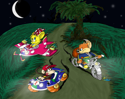 Diddy Kong Racing reloaded by Ribbedebie