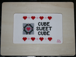 Cube Sweet Cube by yarngirl
