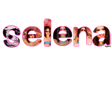 Texto png Selena by Loree84373