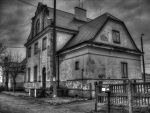 Train station - Gostynin by v3rm1n