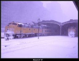 Blizzard of 67 by classictrains