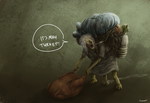 The Turkey Thief by thesadpencil