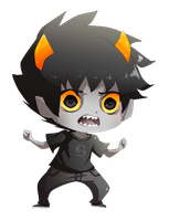Karkat by MoonlightTheWolf
