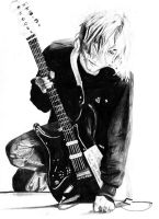 kurtcobain sketch by wingedthing