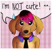 I'm NOT Cute. by AlexDachshund