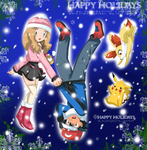 have a good holidays amourshipping by hikariangelove