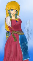 Zelda -Skyward Sword version- by Coco-Apple