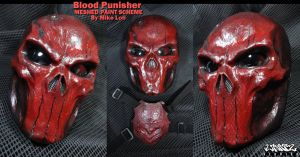 Blood Red Punisher MESH details by Uratz-Studios