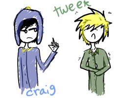 Craig and Tweek by sam-the-vampire