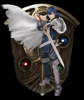 Chrom - Fire Emblem Warriors by SondowverDarKRose
