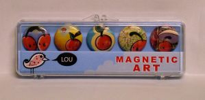 Cherry Magnets by Lou-Pimentel
