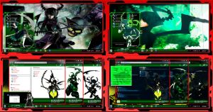 Thema windows7 Dead Master by bir2d