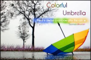 Color Umbrella by Sayornara