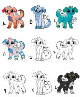 Free Custom Adopts *READ DESCRIPTION* by Bluesapphire97