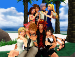 MMD KH-Thanks For Over 1600+Views and 36 Watchers! by XxChocolatexHeartsxX