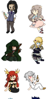 Gotta Pixel Em All - Pack 1 by MaryEclipse