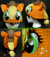 Applejack Hat by KateoftheArt