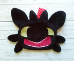 HTTYD: Toothless Grin Zipper Pouch by sugarstitch
