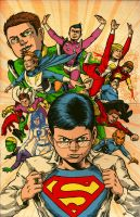 the Legion of Superheroes by RamonVillalobos
