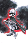 Daisy Duck as Captain Phasma by Hodges-Art