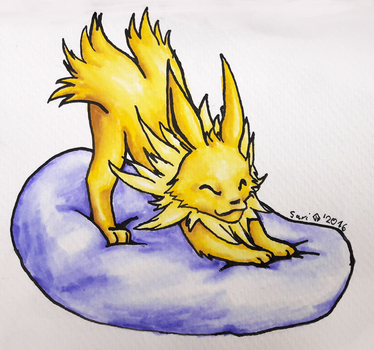 Jolteon! by SarnaNaKiju