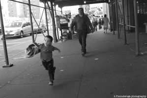 The Running Child by hticonderoga